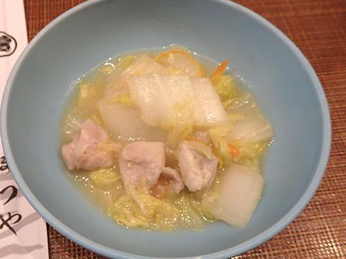 34鶏白菜