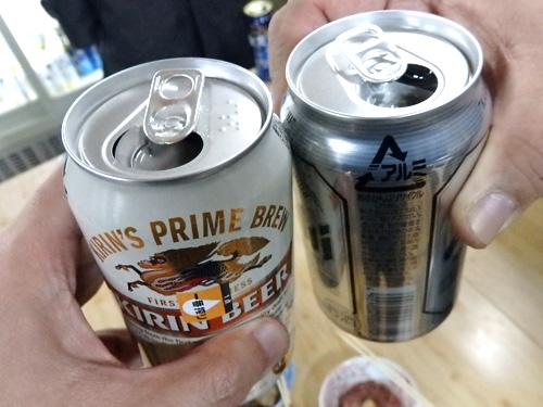 18缶ビール