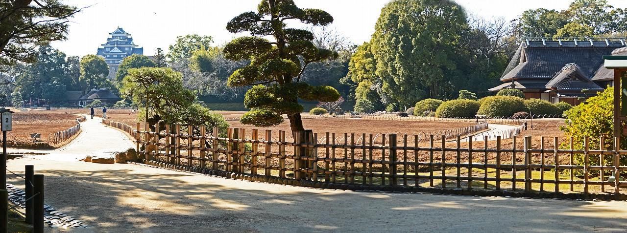 s-20160216 後楽園今日の園内入口のワイド風景 (1)
