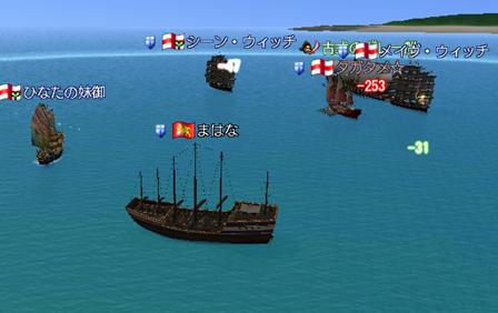 アクロポリスへー古代の船と戦闘