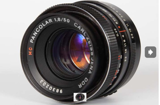 Carl Zeiss Jena MC Pancolr 5018