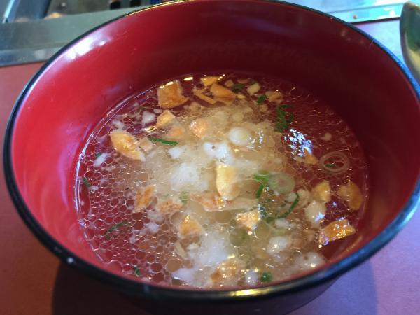 テールスープとご飯12
