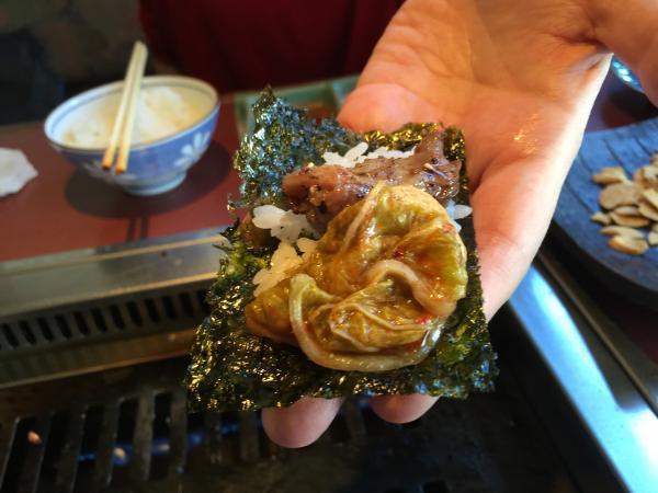 韓国海苔キムチ親鳥スープと13