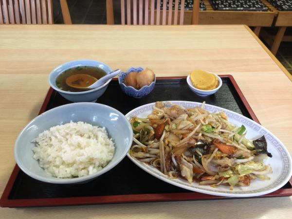 野菜炒め定食6