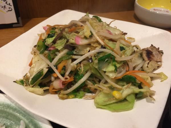 野菜炒め5