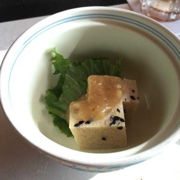先付いぎす豆腐5