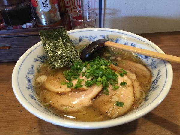 こだわり塩チャーシュー麺5