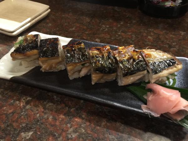 焼き鯖寿司9