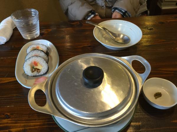 地鶏鍋焼きうどん6