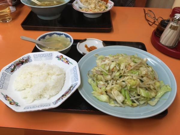 野菜炒め定食5
