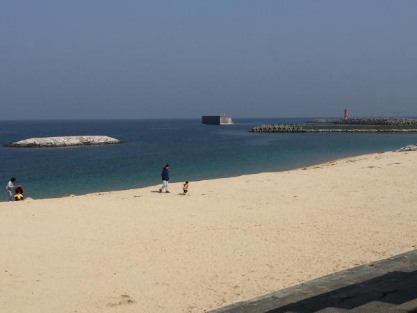 双海シーサイド公園砂浜1