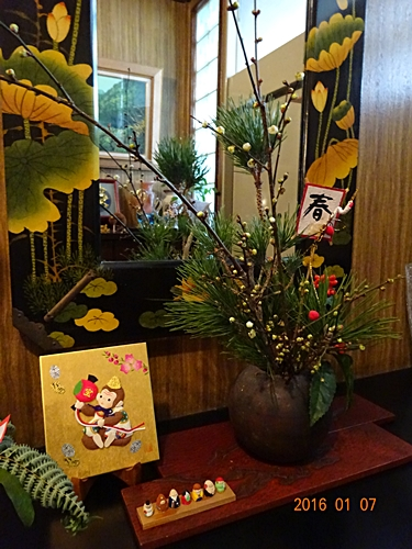DSC04233玄関の生け花