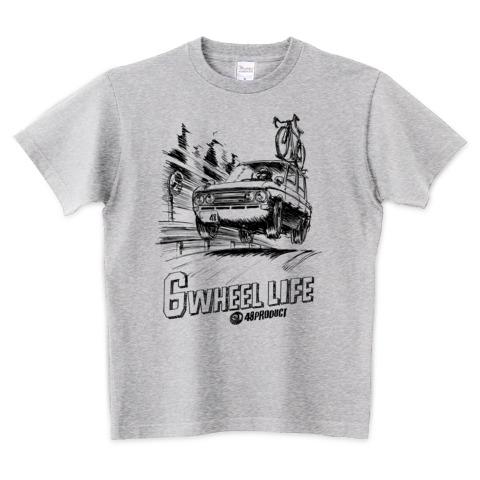 6ホイールライフ Tシャツ