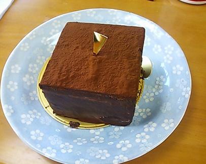 チョコケーキ^^