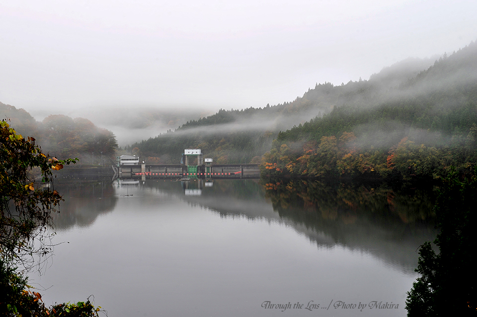 水沼ダム湖1