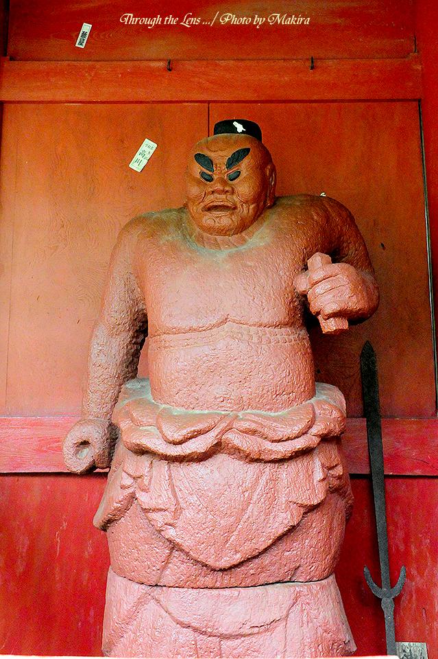楼門-右側阿形仁王像