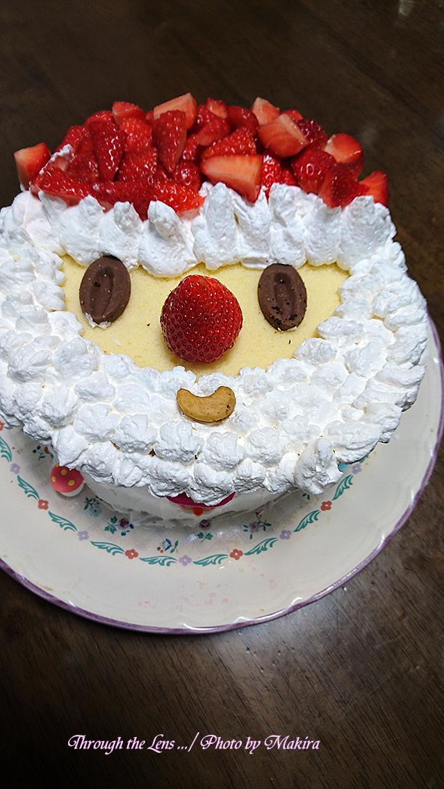 香、泉合作ケーキ