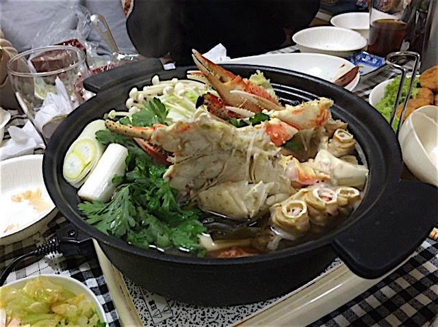 0108カニ鍋7