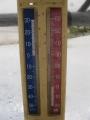 H28.1.20今朝の最低気温(-1℃)@IMG_7542