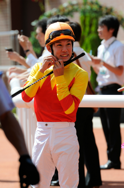 菱田裕二騎手