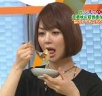 夏目三久 女子アナ セクシー 食事顔 口開け 舌 顔アップ 地上波キャプチャー 高画質エロかわいい画像10220
