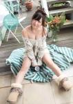 SKE48 大場美奈 セクシー 肩出しセーター おっぱいの谷間 誘惑 高画質エロかわいい画像10229
