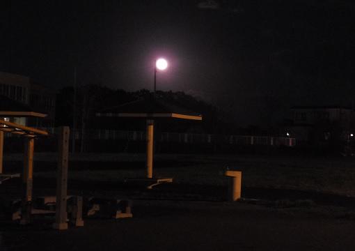 夕景と月5