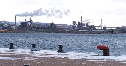 冬の室蘭港1
