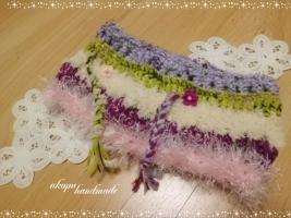 手編み スヌード 小学生