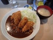 秋葉原 とんかつ ふくよし カキフライカレー(2015/12/25)