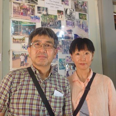 北海道の堀江夫妻