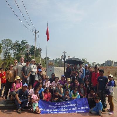 ベトナムでの集合写真