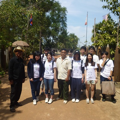 CVSGカンボジアの村を支援する活動8日間