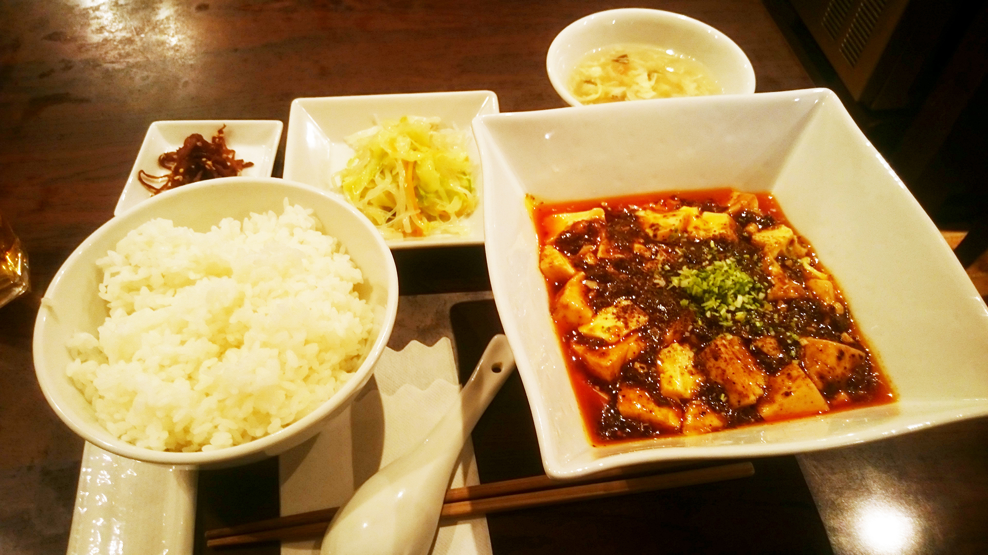 港区赤坂 同源の麻婆豆腐