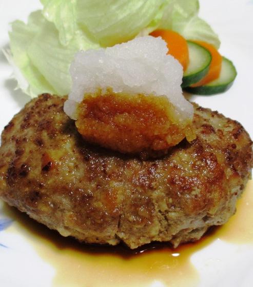 えのき高野豆腐ハンバーグ 拡大