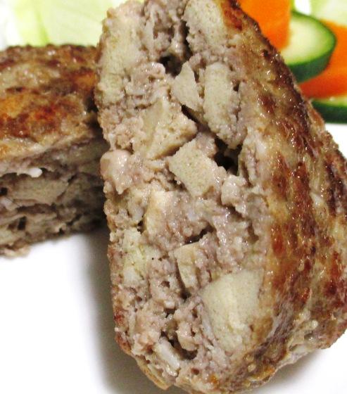 えのき高野豆腐ハンバーグ 大