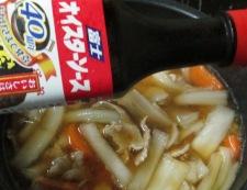 豚こまと白菜のオイスターソース煮 調理④