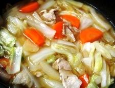 豚こまと白菜のオイスターソース煮 調理⑤