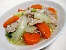 豚こまと白菜のオイスターソース煮 調理⑥