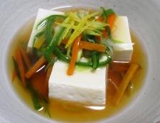 豆腐の野菜あんかけ 調理⑥