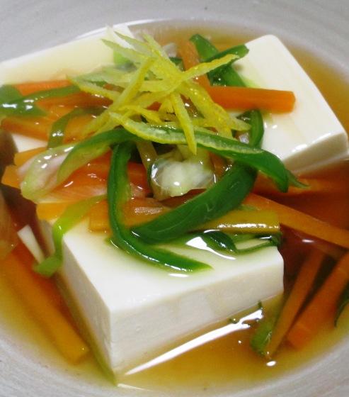 豆腐の野菜あんかけ B