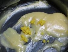 柚子味噌大根 調理②