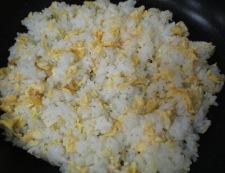 ツナ高菜炒飯 調理③