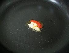 豆腐と豚こまの甘味噌煮 調理①