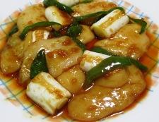 お餅とねぎの生姜風味炒め 調理⑥