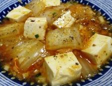 麻婆豆腐白菜 調理⑥