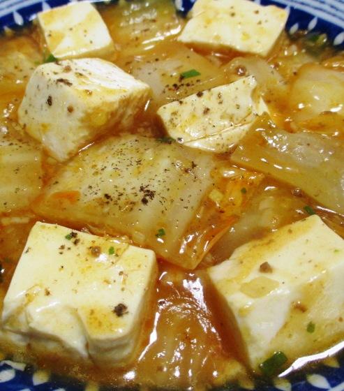 麻婆豆腐白菜 B