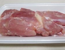 溶き卵衣の鶏の唐揚げ 材料