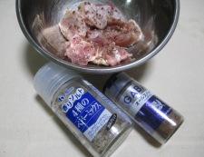 溶き卵衣の鶏の唐揚げ 調理②