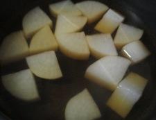 干し大根の煮物 調理③
